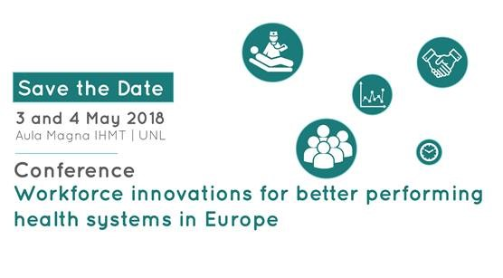 "imagem do post do Conferência ""Workforce innovations for better performing health systems in Europe"""