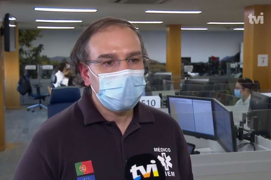 imagem do post do Dia Mundial do AVC: TVI entrevista Médico do INEM